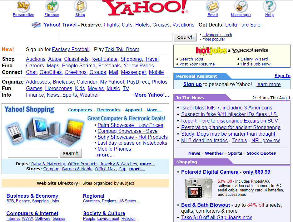 The Complete History Of Search Engines • SEO Mechanic